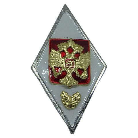 Значок мет. Ромб Военная академия