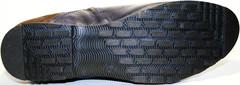 Мужские зимние ботинки на натуральном меху классические Luciano Bellini. Размер 41