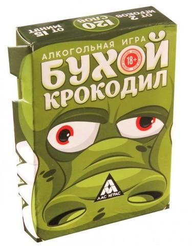 Игра алкогольная «Бухой крокодил»