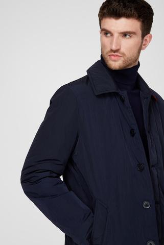 Мужское темно-синее пальто CARCOAT Tommy Hilfiger