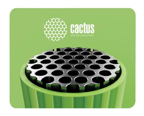 Коврик для мыши Cactus CS-MP-C01S Мини зеленый 250x200x3мм