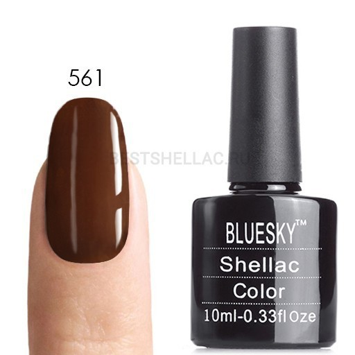 Bluesky Shellac 40501/80501 Гель-лак Bluesky № 40561/80561 Burnt Romance, 10 мл 561.jpg