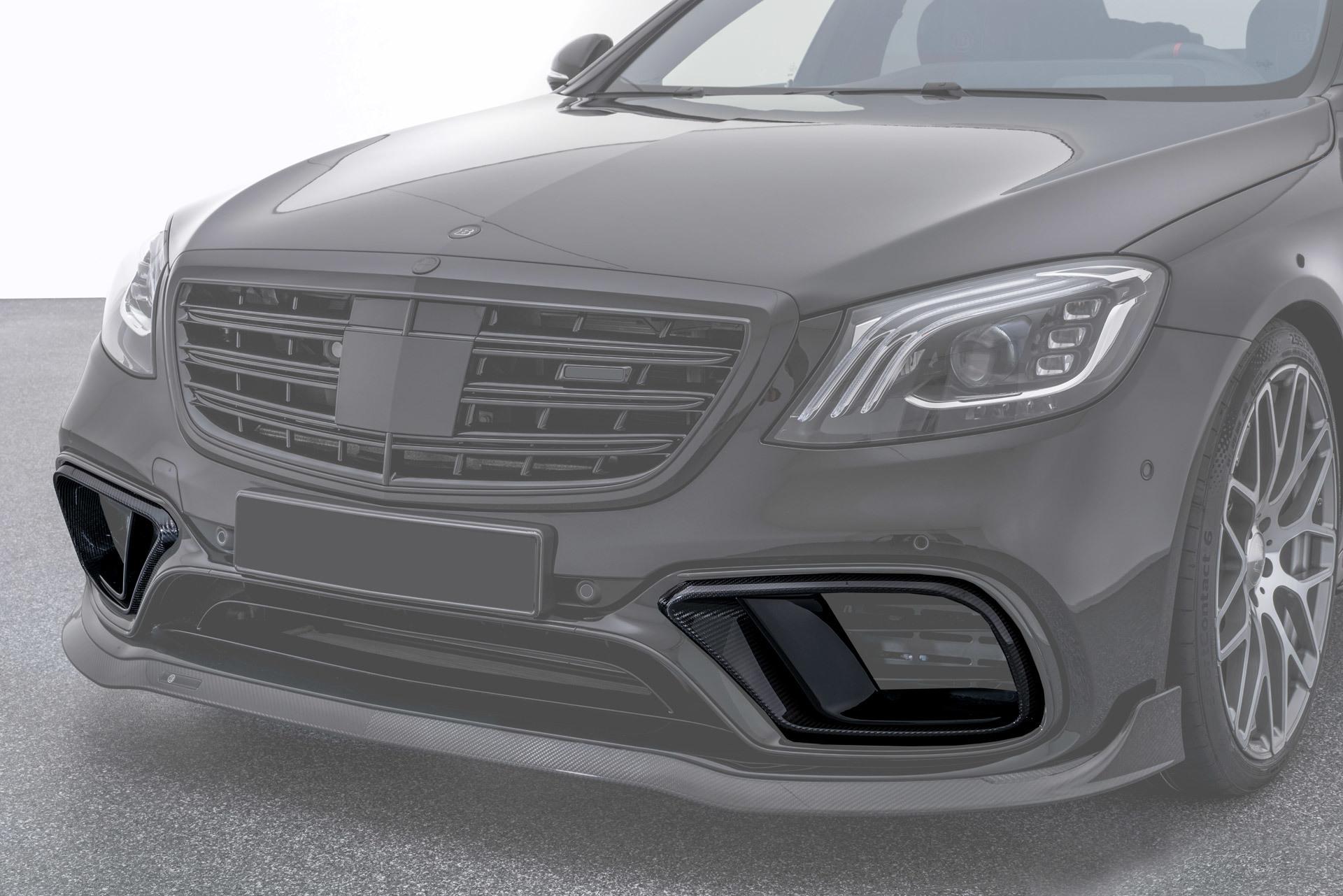 Вставки в передний бампер  для Mercedes S63 AMG W222
