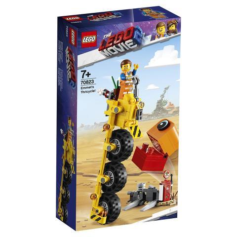 LEGO Movie: Трехколёсный велосипед Эммета 70823 — Emmet's Thricycle! — Лего Муви Фильм
