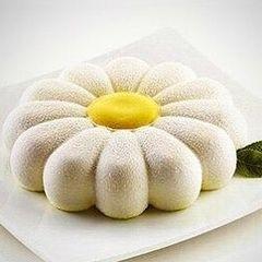 Силиконовая форма для выпечки Цветок Ромашка-торт (D-20см.)