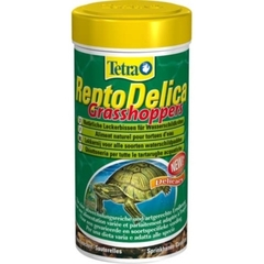 Лакомство для водных черепах, Tetra ReptoDelica Grasshoppers, (кузнечики), 250 мл