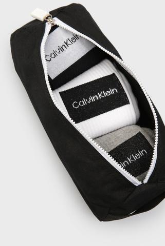 Мужские хлопковые носки (3 пары) CK MEN CREW Calvin Klein