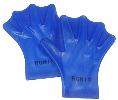 Н176А Лопатки силиконовые с перепонками Ronin