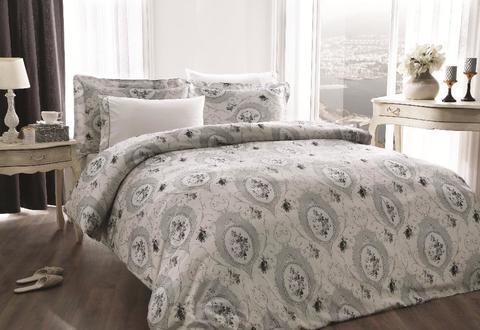Постельное белье ANGEL серый TIVOLYO HOME Турция