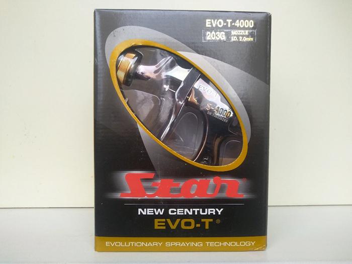 Краскопульт STAR EVO-T 4000G с дюзой 2.0