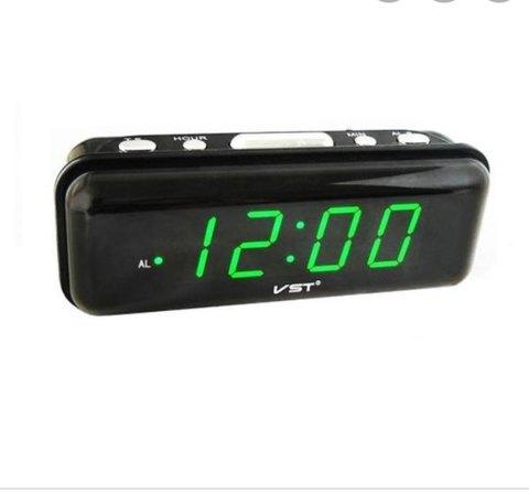 Часы Электронные+Будильник с LED дисплеем VST 738-2