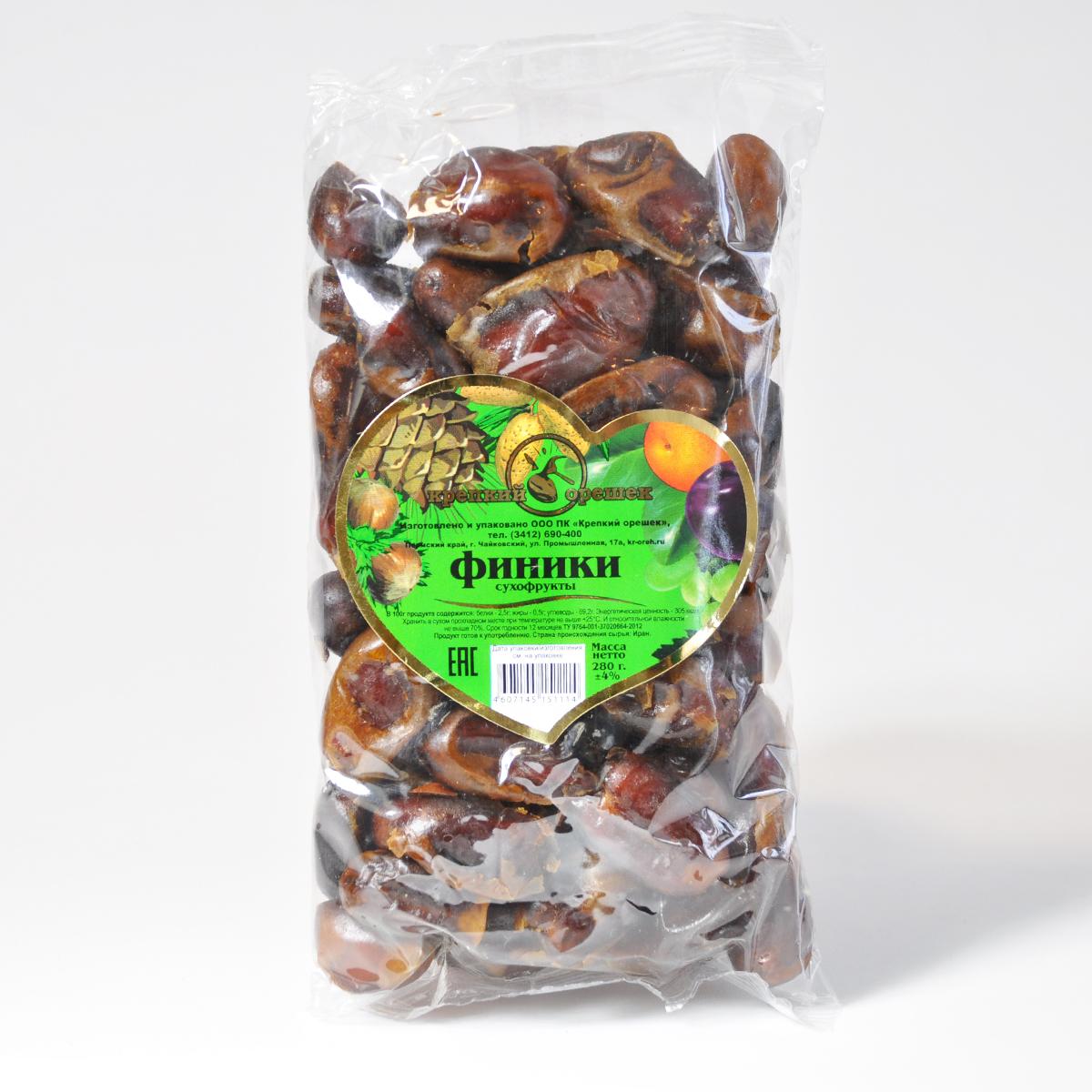 Финики (сушеные) 280 гр