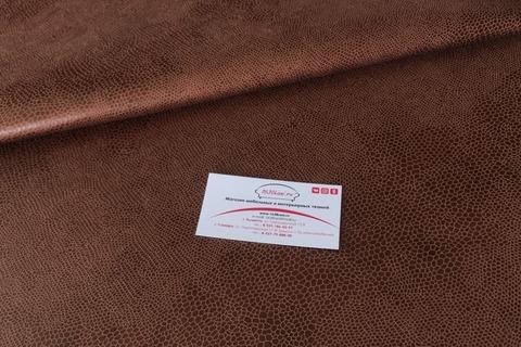 Искусственная замша Сонора 03 темно-коричневая
