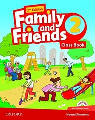 Family and Friends 2 Book + Workbook