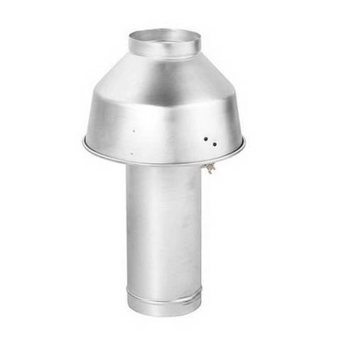 Стабилизатор тяги BAXI KIT CAPPA D.180 (для котлов BAXI SLIM EF 1.39, 1.49)