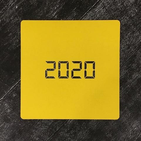 Трафарет новогодний 2020 №25