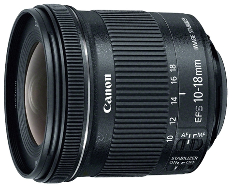 Canon EF-S 10-18mm f/4.5-5.6 IS STM (TAIWAN)