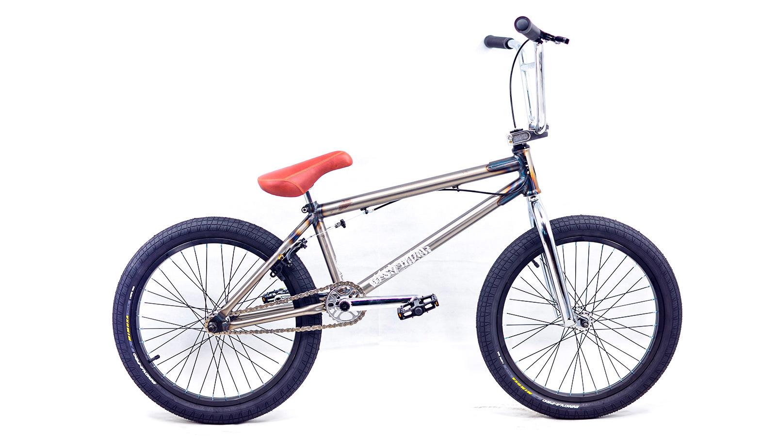 bmx недорого велосипед подростковый серебристый