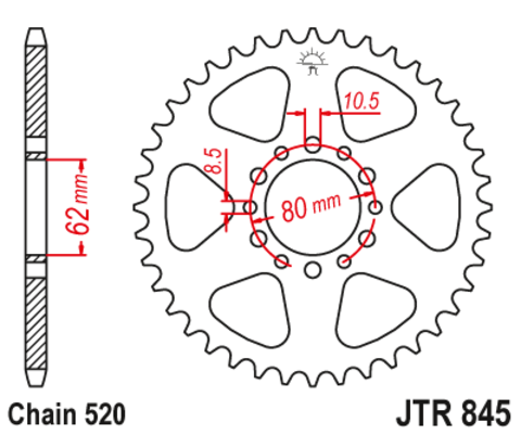 JTR845