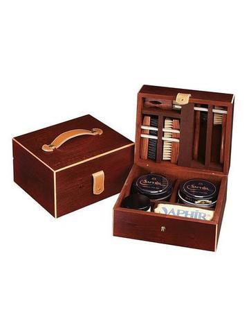 Набор для ухода за обувью в деревянном ларце sphr2910117 Saphir Medaille БОЛЬШОЙ, Saphir