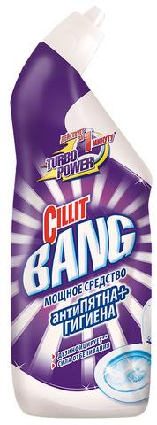 """Средство для туалета """"CILLIT BANG"""" Анти-пятна+Гигиена Сила отбеливания 750 мл"""