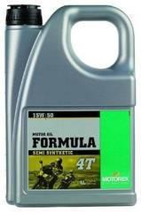 Моторное масло полусинтетика Motorex Formula 4T 15w-50 4 литра