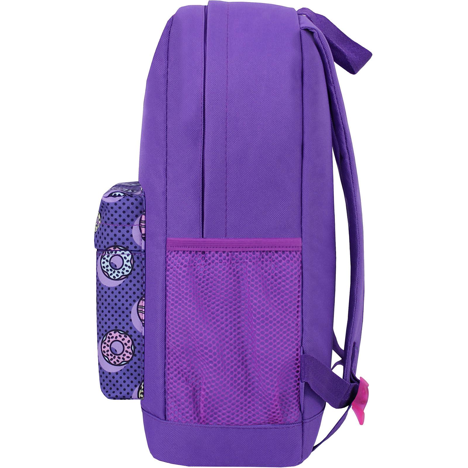 Рюкзак Bagland Молодежный W/R 17 л. 339 Фиолетовый 745 (00533662) фото 3