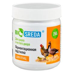 """Ферментационная подстилка для птиц """"BIOSREDA"""", 250 гр."""