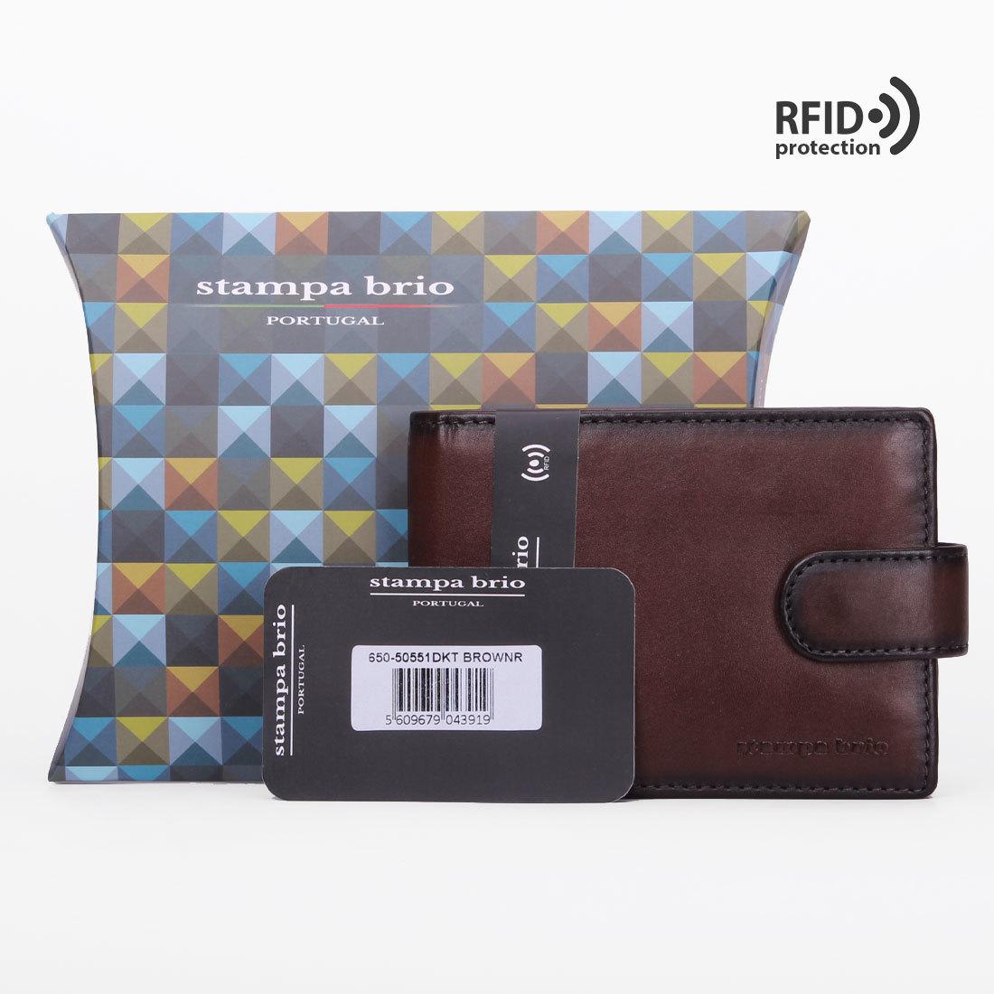 650 R - Портмоне с потайным отделением и RFID защитой