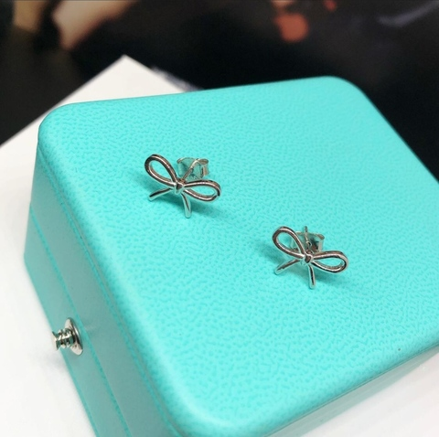 Серьги Tiffany Bow