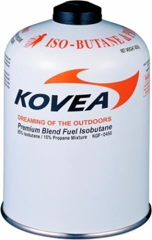Картинка баллон Kovea для газовой горелки 450 (изобутан/пропан 70/30)  - 1