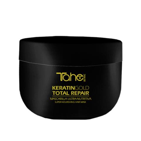 Keratin Gold Total Repair Mask Маска для интенсивного питания волос с кератином 300 мл