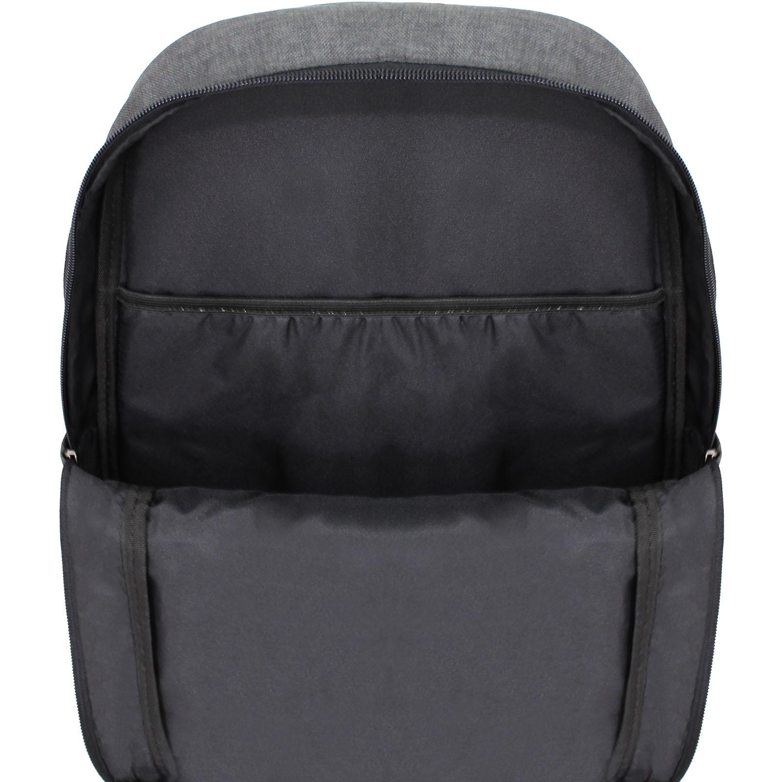 Рюкзак Bagland Milano 14 л. Чёрный/серый (0011569)