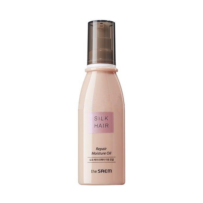 Восстанавливающее масло для волос THE SAEM SILK HAIR REPAIR Moisture Oil 80ml