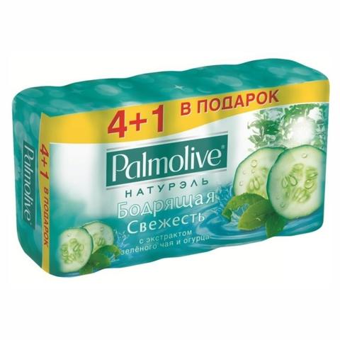 Мыло PALMOLIVE Натурэль Зеленый чай Огурец 5*70 гр ТУРЦИЯ