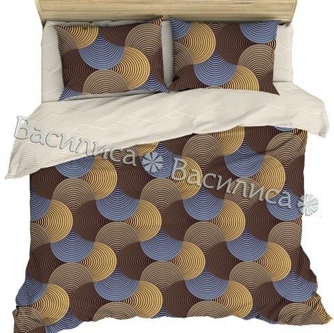 Постельное белье бязь сем. Василиса 70*70 рис 7654/2