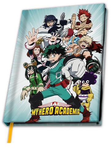 Блокнот My Hero Academia