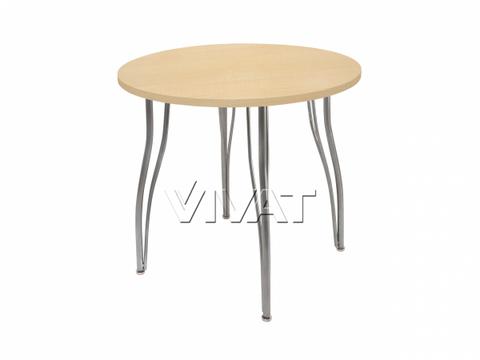 Стол обеденный круглый LС (ОС-12) Медовое дерево