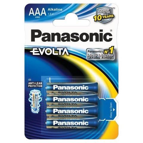 Батарейки Panasonic Alkaline Evolta LR03, AAA (4/48) BL