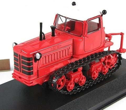 Модель Трактор №42 ДТ-75М (история, люди, машины)