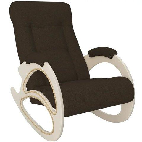 Кресло-качалка Комфорт Модель 4 дуб шампань/Malta 15