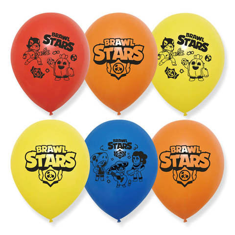 Воздушные шарики Бравл Старс (Brawl Stars)