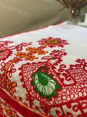 Рушник льняной с вышивкой