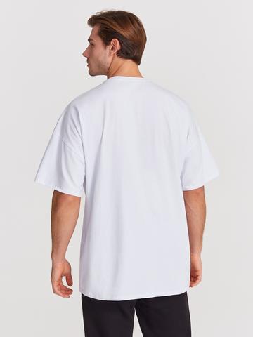 Футболка мужская Oversized для йоги и фитнеса