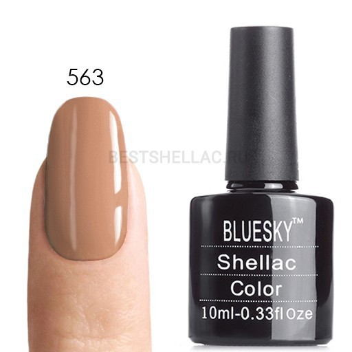 Bluesky Shellac 40501/80501 Гель-лак Bluesky № 40563/80563 Satin Pajamas, 10 мл 563.jpg