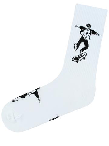 Скейт (белые)