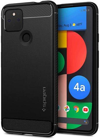 Чехол Spigen Rugged Armor для Google Pixel 4a 5G (2020) - Matte Black