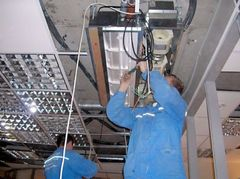 Фото Чистка канальных внутренних блоков сплит-системы и фанкойлов