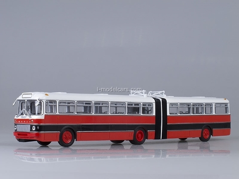 Ikarus 180 Bulgaria red-black Soviet Bus (SOVA) (SOVA) 1:43