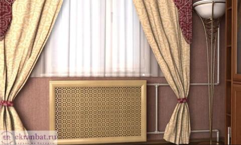 Экран-фасад на батарею из МДФ